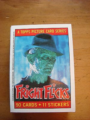 Fright Flicks - Topps Picture Trading Card Series 1984 - Lot of 36 Cards