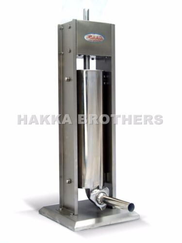 Hakka Brothers 15LB Sausage Stuffer Vertical Stainless Steel Meat Fillers SV-7