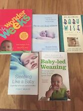 Baby settling book bundle Strathfield Strathfield Area Preview