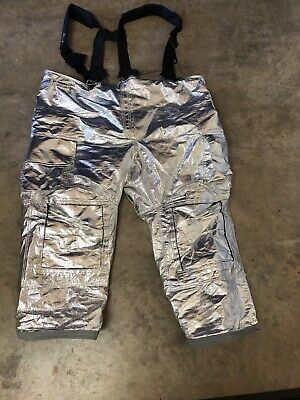 Lion Janesville Firefighter Proximity Pants Model Psdm Size 54r Turnout Gear