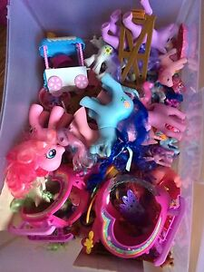 Mixed batch of my little ponies