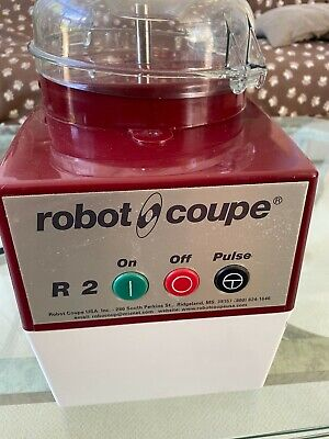 Robot Coupe R2 Food Processor With New Bowl Lid.  First Class Shape