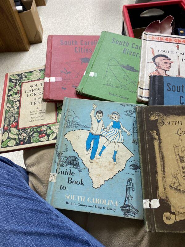 South Carolina Books (previous Library Books) Used 7 Books
