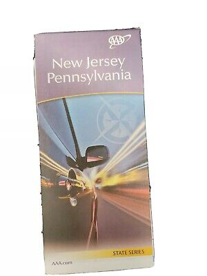 AAA Road Map of Pennsylvania and New Jersey