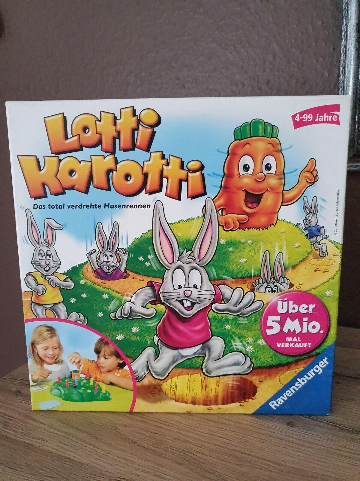 """Spiel """"Lotti Karotti - Das total verdrehte Hasenrennen"""""""