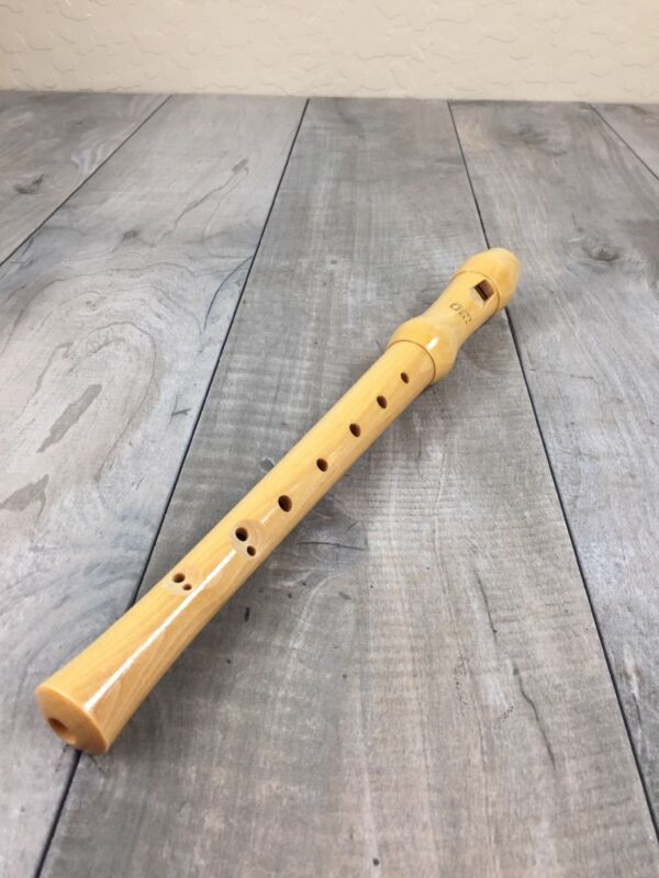 Vintage Gill 2-Piece Wooden Recorder Flute - Made in Germany
