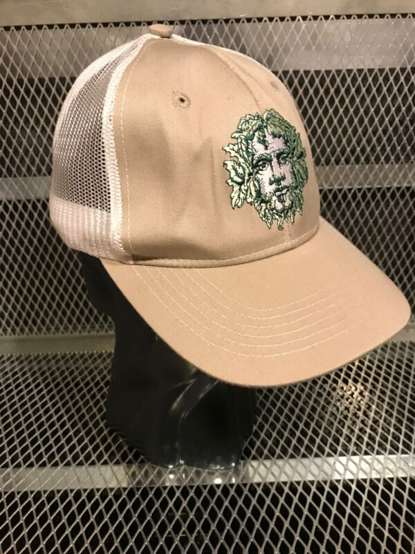 GREEN MAN BREWING Asheville NC ~ Beer Mesh Trucker Adjustable Snapback Hat Cap