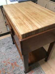 Meznar quality handcrafted kitchen island bench chopping block