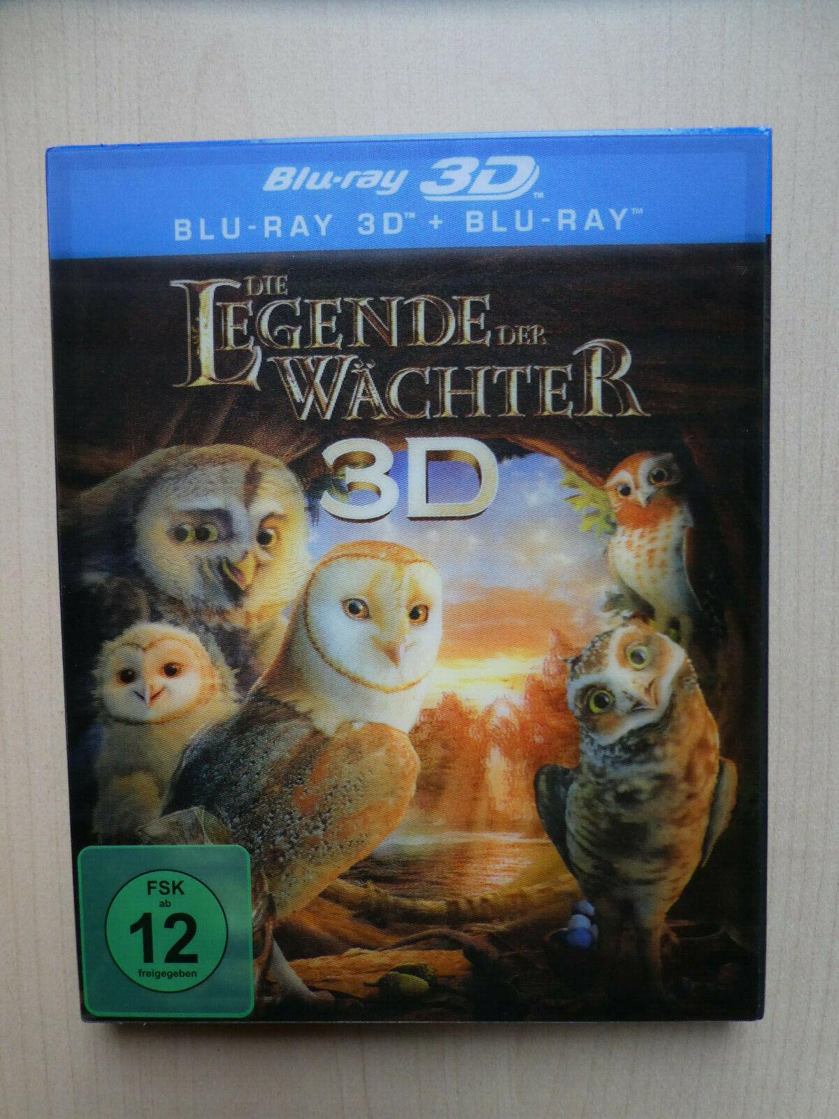 Die Legende der Wächter 3D  Blu-Ray Lentikular Cover Fantasy Animationsfilm