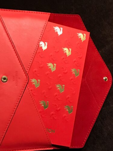 Louis Vuitton Chinese New Year 2017 VIP Rooster Envelopes Leather Wallet - New