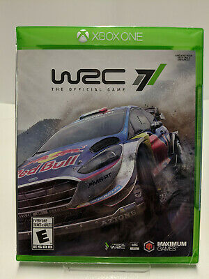 WRC 7 XBOX ONE Factory Sealed