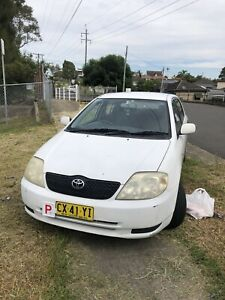 2002 Toyota Corolla Ascent Seca 5 Sp Manual 5d Hatchback