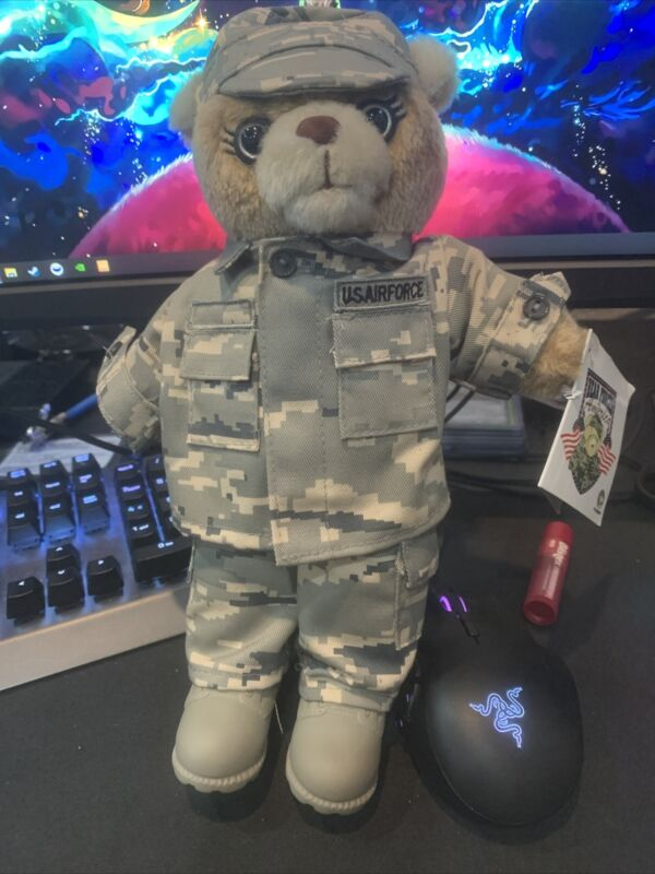 Bear Forces Of America Us Air Force Female Bear New With Tags