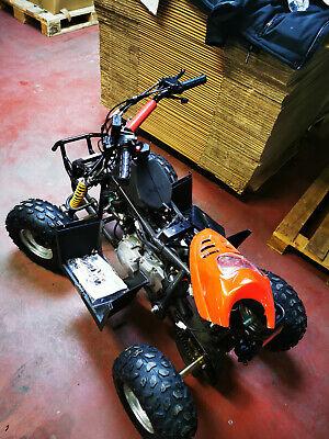 Luxxon Quad ATV Youngster, 50 ccm, 45 km/h, rot Kinder Quad , gebraucht gebraucht kaufen  Birkenfeld