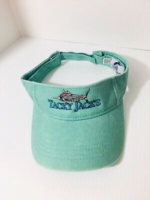 Tacky Jacks Embroidered Visor Hat Mens Womens Unisex