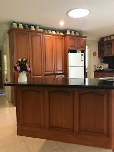 Kitchen cupboards; cooktop, sink and rangehood