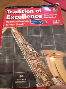 Tradition of excellence book tenor saxophone Wellington Point Redland Area Preview