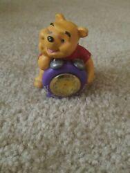 Fantasma Walt Disney Winnie The Pooh & Honey Pot Miniature Desk Clock