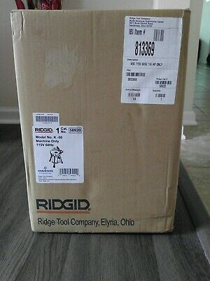 Ridgid K-50 New Machine Only