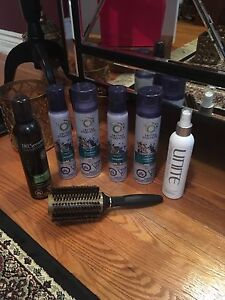 Hair products - herbal essences, unite, tresemme