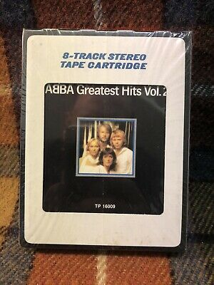 ABBA Greatest Hits Vol. 2 8-Track NEW SEALED Atlantic TP16009