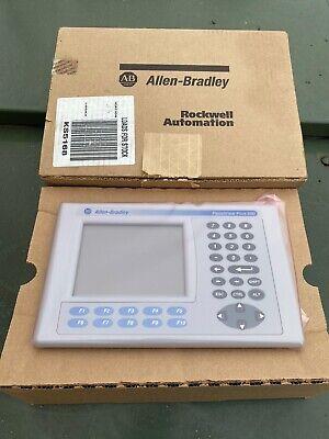 New Allen Bradley 2711p-b6c3d Panelview Plus 600 Ser B - 6 Assembled Terminal