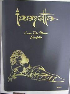Frank Frazetta-Came The Dawn portfolio RARE New COA  numbered to 2500 32 plates