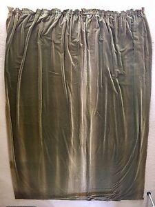 Pair of antique English velvet curtains Macquarie Belconnen Area Preview