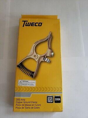 Tweco Gc-300 Ground Clamp 300 Amp Copper Welding Clamp New