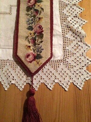 tapestry bell pull with tassle