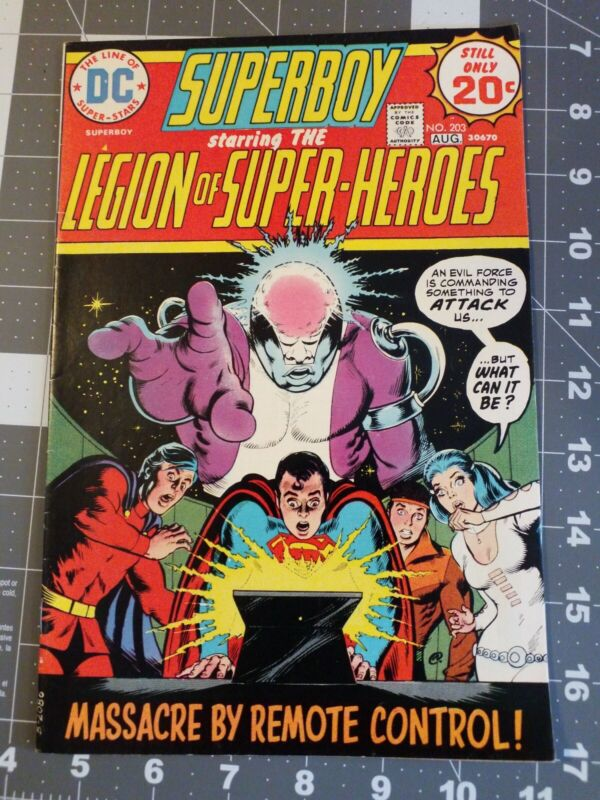 Superboy 203 Dc Comics 1974