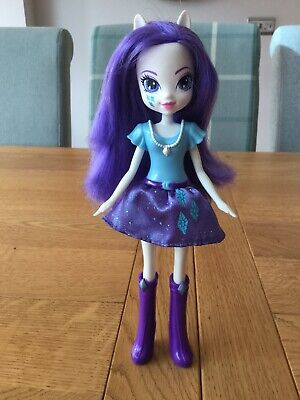 Rarity My Little Pony Equestria Girls Doll Excellent Condition for sale  Shipping to South Africa