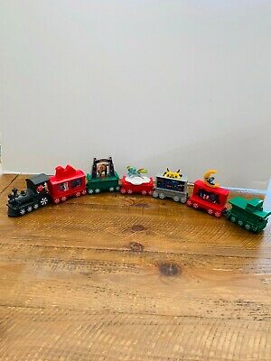 McDonalds 2017 Holiday Express Christmas Train 7 Cars MLP Transformers Barbie