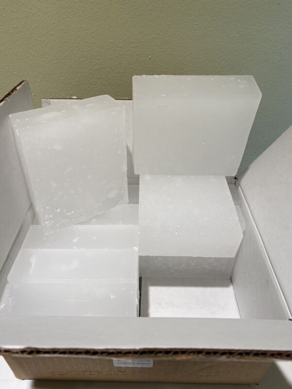 PARAFFIN WAX For Candle Making -10 LBS-Low Melt Point Container Wax - CGI 127