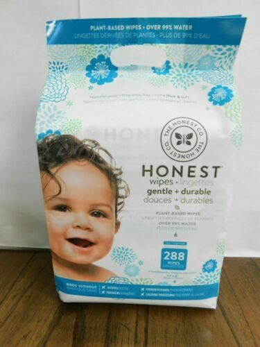 NEW Pack of Honest Company 288 Count Wipes.