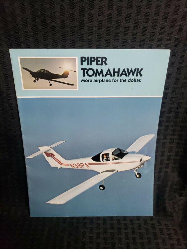 1977 Piper Tomahawk Rare Sales Brochure