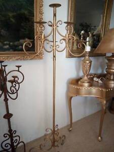 antique metal large candle holder Concord West Canada Bay Area Preview