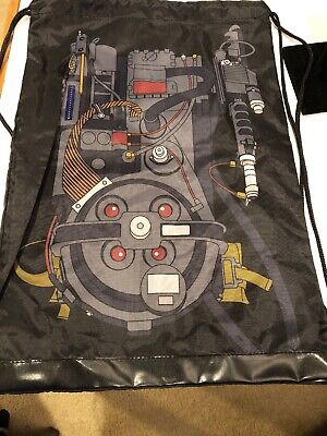 2018 Loot Crate Ghostbusters Proton Pack Drawstring Backpack Bag - Ghostbusters Proton Backpack