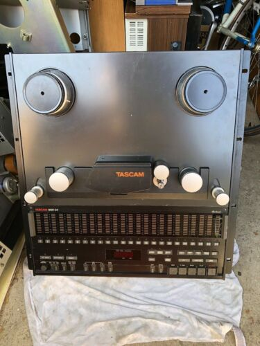 TASCAM MSR-24 24-CHANNEL RECORDER / REPRODUCER REEL TO REEL