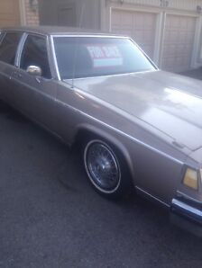 For sale running and driving 1984 Buick Park Ave.