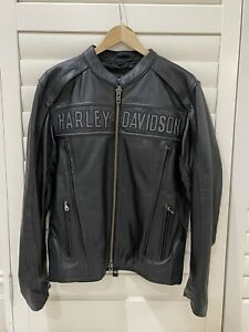 Harley Davidson Leather Jacket - Brand New With Tags - Size Large