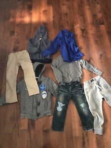 Lot of 7 boys items size 5/6