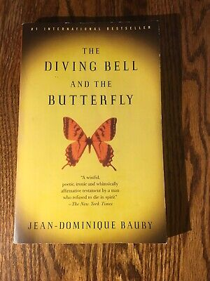 THE DIVING BELL AND THE BUTTERFLY by Jean-Dominique Bauby softcover FASCINATING (Bauby The Diving Bell And The Butterfly)