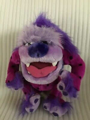 "Purple Monster Tasmanian Devil 12"" Plush Stuffed Animal"