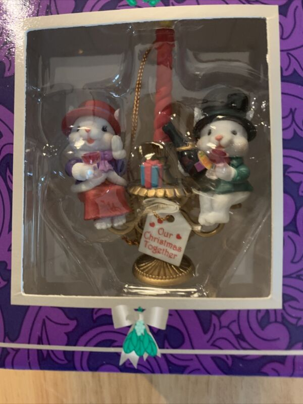 Vintage Mistletoe Magic Collection Candle (Our Christmas Together ) Ornament