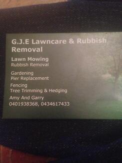 G.J.E Lawncare & Rubbish Removal Jerrys Plains Singleton Area Preview