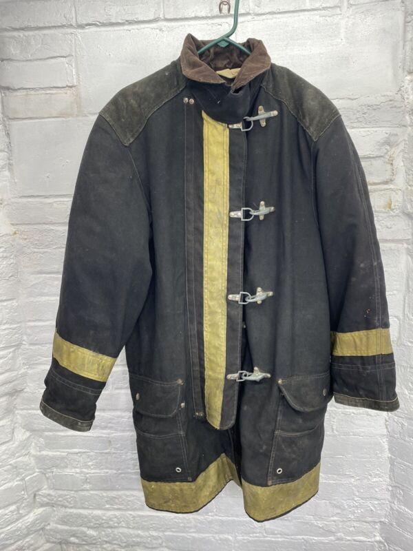 Vintage Janesville Firefighter Jacket With Toggles