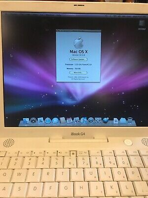 Apple iBook G4 12-inch and Apple Bundle Software power and other things