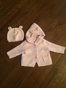 Baby Gap Bear Sweater and Hat