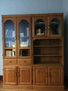 Two part unit, beautiful used separated or together!